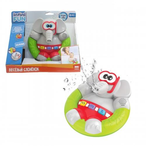 Игрушка для ванны Весёлый Слонёнок Kidz Delight 1TOY