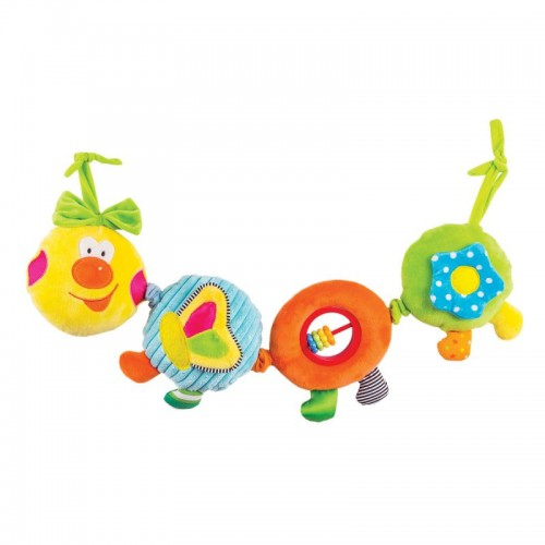 "Игрушка - подвес ""Весёлая гусеница ""Камилла"" Happy Snail"