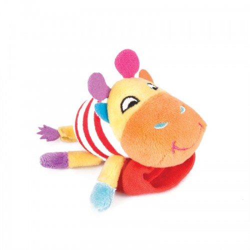 "Игрушка-погремушка на ручку ""Жираф Спот"" Happy Snail"