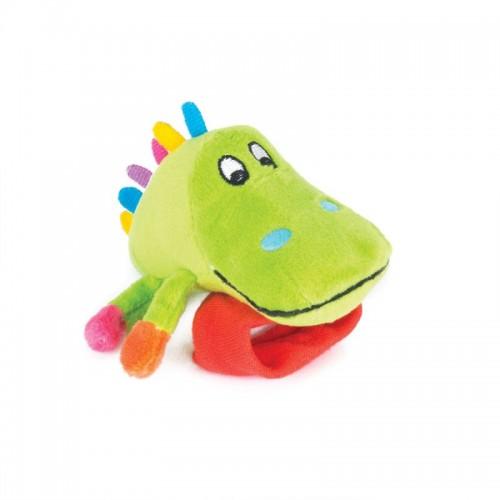"""Игрушка-погремушка на ручку """"Крокодил Кроко"""" Happy Snail"""