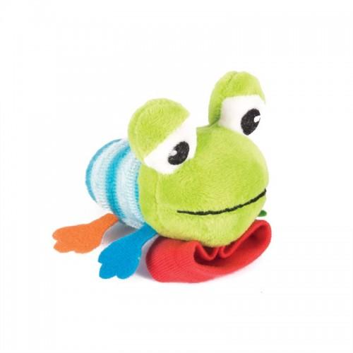 "Игрушка-погремушка на ручку ""Лягушонок Квака"" Happy Snail"