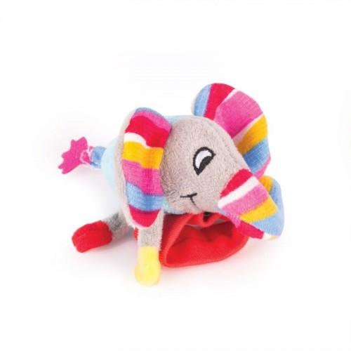 "Игрушка - погремушка на ручку ""Слонёнок Джамбо"" Happy Snail"