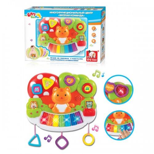 """Музыкальное пианино """"Котик"""" Bambini S+S Toys"""