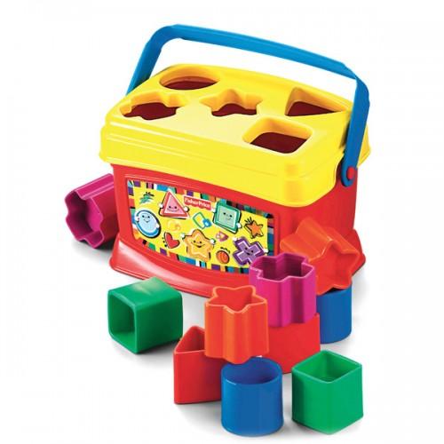 Первые кубики малыша Fisher-Price