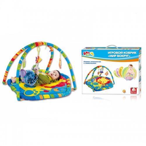 "Развивающий коврик ""Мир вокруг нас"" Bambini S+S Toys"