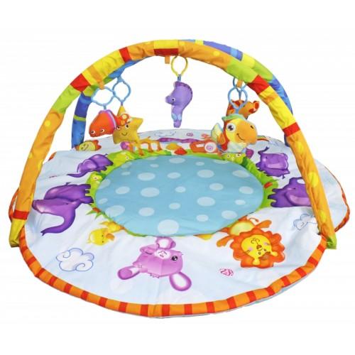 """Развивающий коврик """"Веселые зверюшки"""" Bambini S+S Toys"""