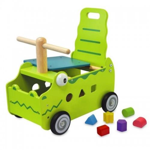 """Сортер-каталка """"Крокодил"""" I`m Toy"""