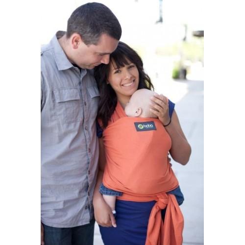 Трикотажный слинг-шарф Boba Wrap расцветка Orange Boba