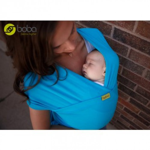 Трикотажный слинг-шарф Turquoise Boba