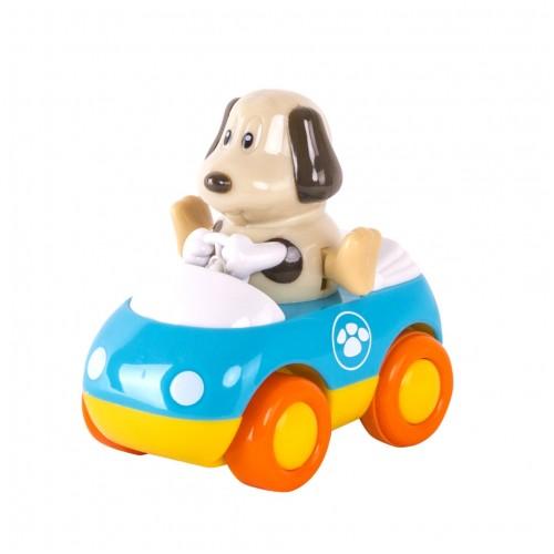 Зверушки на колесиках (2 шт/уп): щенок + бегемотик Hap-p-Kid