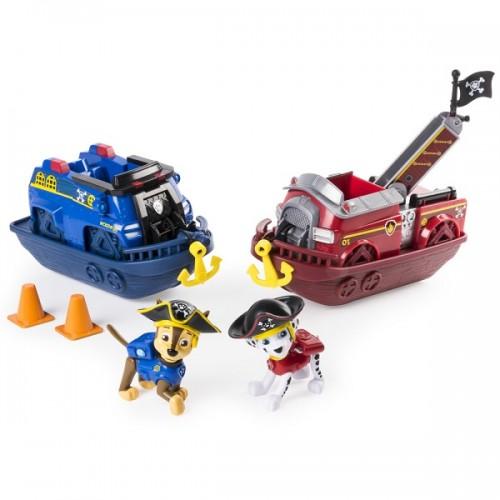 Игровой набор кораблей Маршала и Чейза Щенячий патруль Paw Patrol
