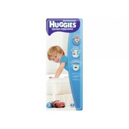 Трусики-подгузники Huggies для мальчиков 5 (13-17кг), 48шт