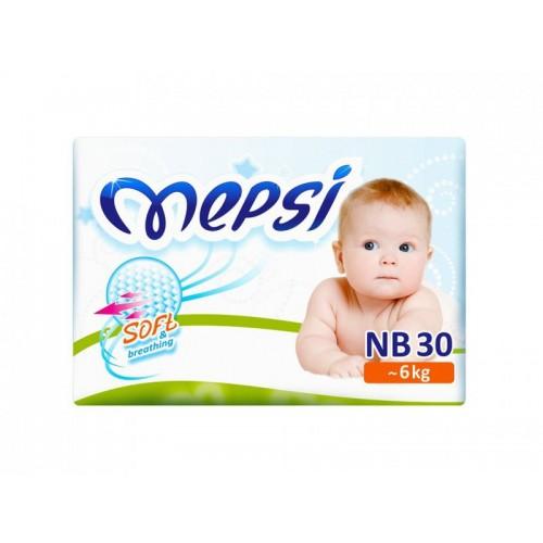 Подгузник детский NB (0-6 кг.) 30 шт. Mepsi (Мепси)