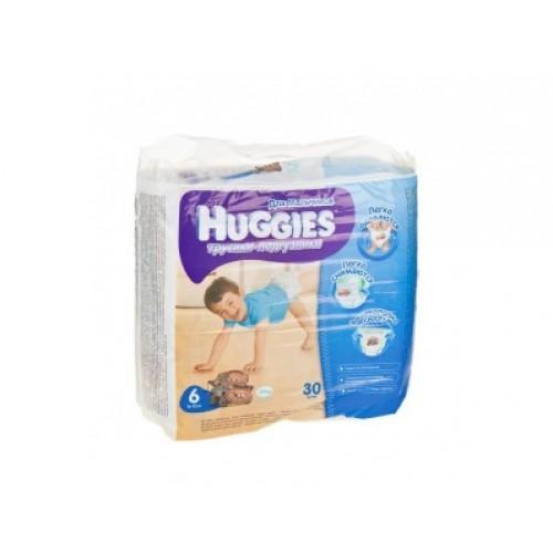 Трусики-подгузники Huggies для мальчиков 6 (16-22кг), 30шт