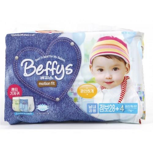 Motion fit трусики-подгузники для детей размер XXL более 17 кг./32 шт. Beffy's (Беффис)