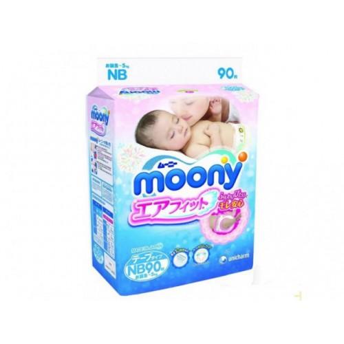 Подгузники для новорожденных (до 5 кг), 90 шт Moony (Муни)