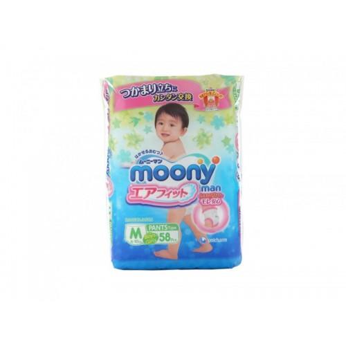 Moonyman трусики универсальные M (6-10 кг.), 58 шт. Moony (Муни)