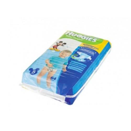 Подгузники Huggies Ultra Comfort для мальчиков 5 (12-22 кг), 64шт