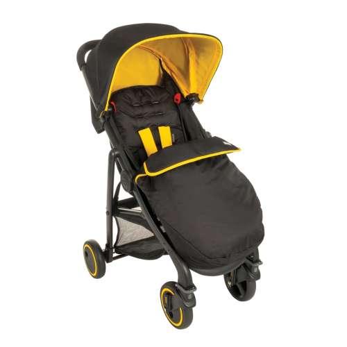 Blox коляска 4-х колёсная прогулочная цвет черный с желтым Graco (Грако)
