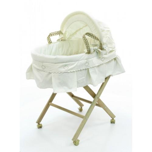 Корзина-переноска плетёная с капюшоном Luna Elegant Фиореллино Fiorellino