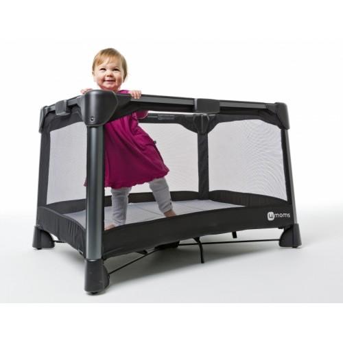 Манеж-кровать Breeze(серый) 4Moms