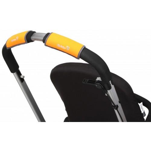 Чехлы Choopie Сити Грипс на ручку для универсальной коляски 334/9440 Neon Orange CityGrips