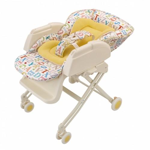 Колыбель-стульчик New Born(91063 Белый/Жёлтый) Aprica (Априка)