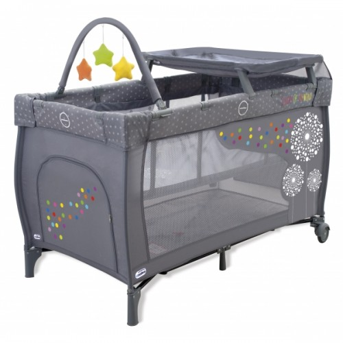 Манеж Travel Cot Mix Plus(11473 Dandelion) Asalvo (Асальво)