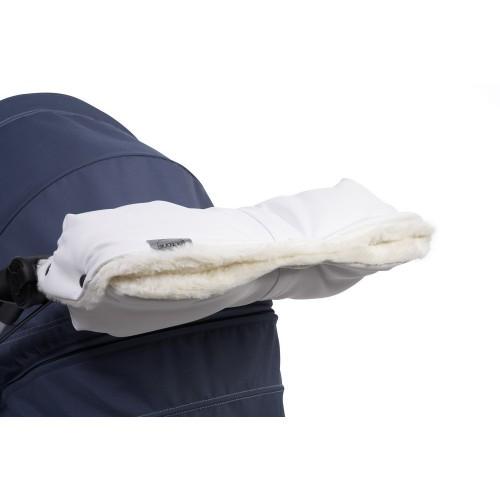 Муфта для рук 2015(White Leatherette белая кожа) Teutonia