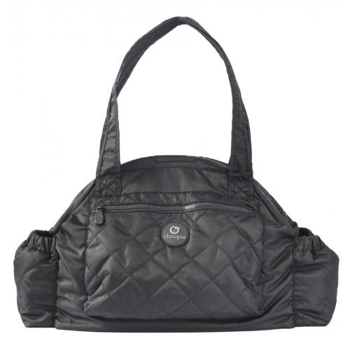 Сумка для мамы Choopie (Чупай) Soho CityBag black/подкладка горошек 387CH-WH CityGrips