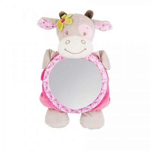 Зеркало для контроля за ребенком Mirror for car Manon Alizee Коровка 521390 Nattou