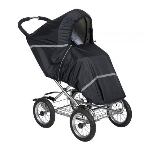 Дождевик для прогулочной коляски Black 43702(Black) Tullsa