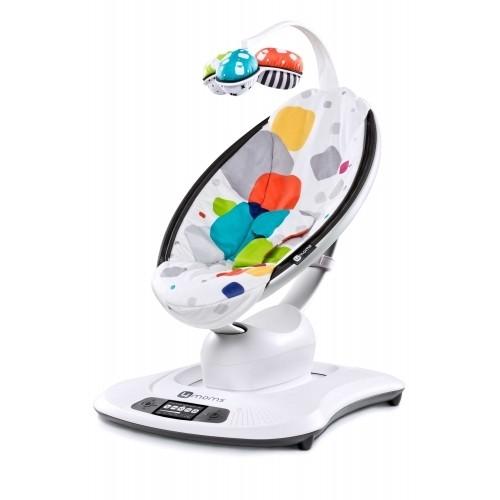 Электронное кресло-качалка Mamaroo 3.0(мультиплюш) 4Moms