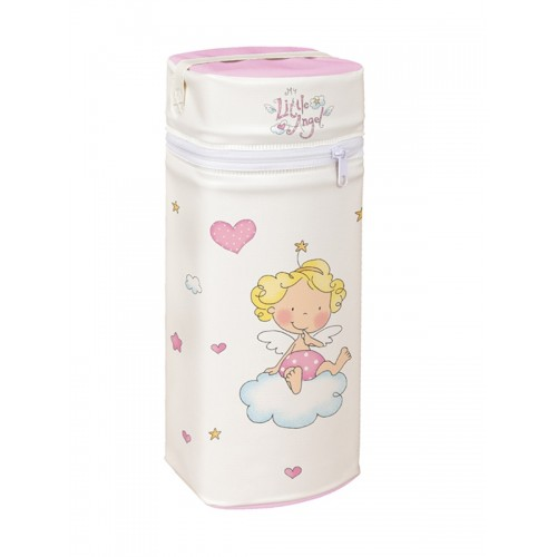 Сумка-термос Jumbo(W-005-008-007 Little Angel White/Pink) Ceba Baby