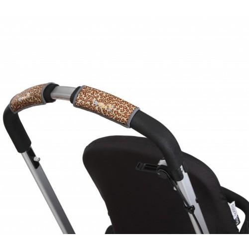 Чехлы Choopie Сити Грипс на ручку для универсальной коляски 340/9433 Brown Leopard CityGrips