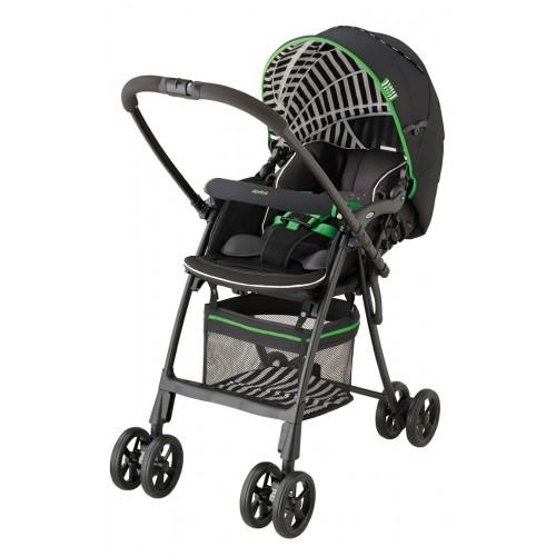 Коляска-трость FlyLe (Aprica (Априка) ФлайЛи) Green Stripe зеленый 92963
