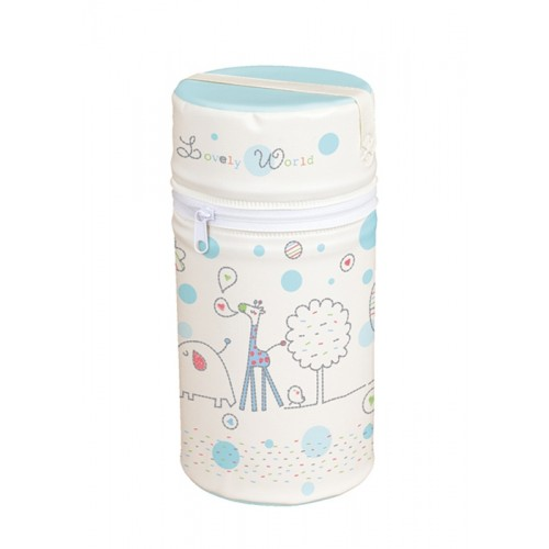 Сумка-термос Mini(W-002-001-190 Lovely World Turquoise) Ceba Baby
