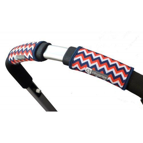 Чехлы Choopie Сити Грипс на ручку для универсальной коляски 366/4271 chevron tri-color CityGrips