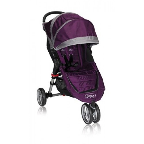 Коляска City Mini Single фиолетово-серый Baby Jogger (Бэби Джоггер)