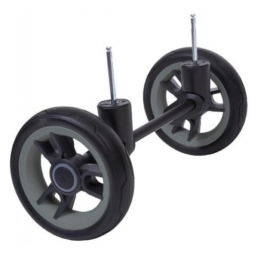 Комплект колес для бездорожья Cross Country BeYou/Cosmo 3 2016(черный/серый) Teutonia