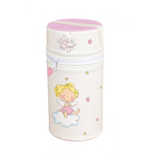 Сумка-термос Mini(W-002-008-007 Little Angel White/Pink) Ceba Baby