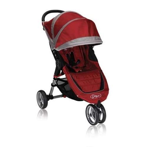Коляска City Mini Single цвет красно-серый Baby Jogger (Бэби Джоггер)