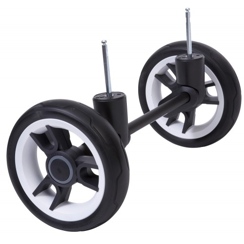 Комплект колес для бездорожья Cross Country BeYou/Cosmo 3 2016(черный/белый) Teutonia