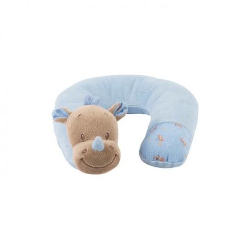 Подушка-подголовник Neck pillow Arthur Louis Носорог 644365 Nattou