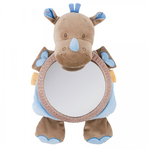 Зеркало для контроля за ребенком Mirror for car Arthur Louis Носорог 644334 Nattou