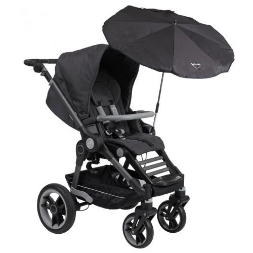 Зонтик от солнца на коляску Тевтония 6005 Gunmetal Teutonia