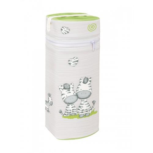 Сумка-термос Jumbo(W-005-002-260 Zebra Grey) Ceba Baby