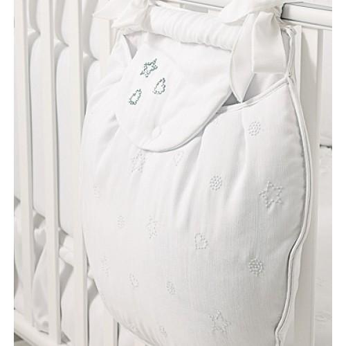 Карман для пижамы Diamante белый Baby Expert