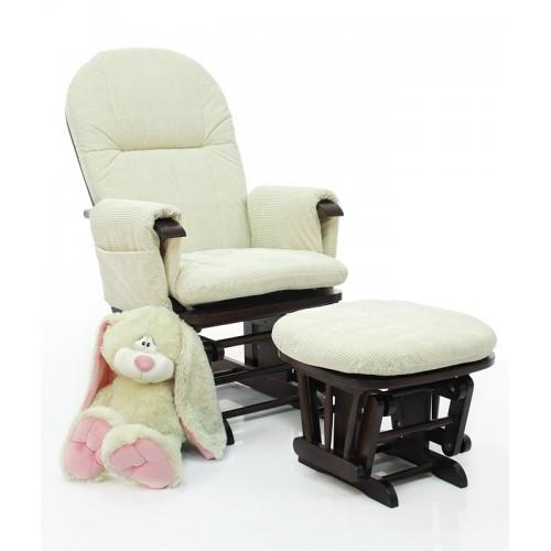 Кресло-качалка для кормления Daisy GC35(Mahogany/Cream) Tutti Bambini