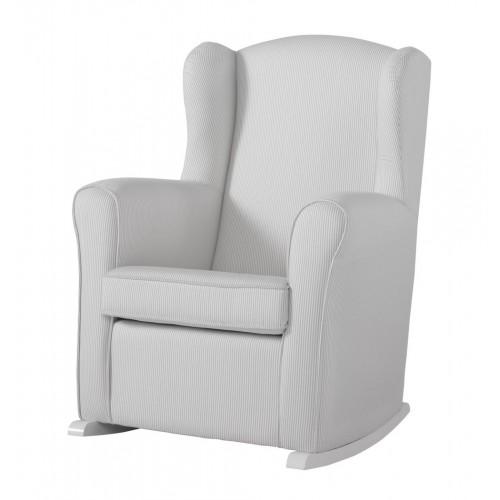 Кресло-качалка Wing White(Цвет обивки: Grey Striped) Micuna (Микуна)
